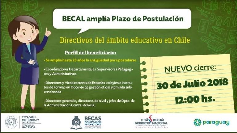 224 postulantes para las becas Chile 01